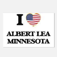 I love Albert Lea Minneso Postcards (Package of 8)