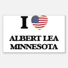 I love Albert Lea Minnesota Decal