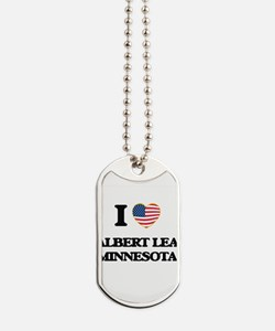 I love Albert Lea Minnesota Dog Tags