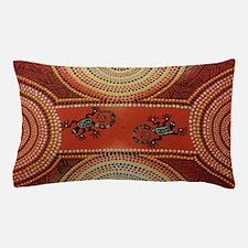 Wandering Geckos Pillow Case