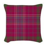 Tartan - Huntly dist. Woven Throw Pillow