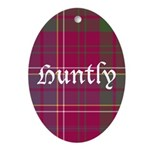 Tartan - Huntly dist. Ornament (Oval)