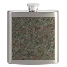 Cute Camo Flask