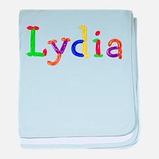 Lydia Balloons baby blanket