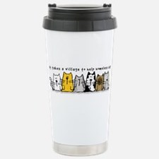 Funny Cats Travel Mug