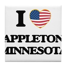 I love Appleton Minnesota Tile Coaster