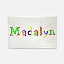 Madalyn Balloons Rectangle Magnet