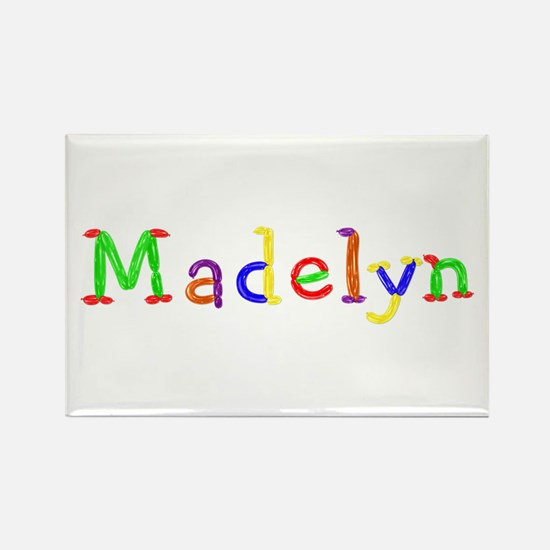 Madelyn Balloons Rectangle Magnet