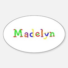 Madelyn Balloons Oval Decal