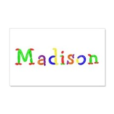Madison Balloons 20x12 Wall Peel