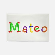 Mateo Balloons Rectangle Magnet