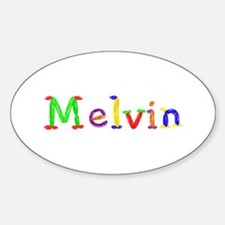 Melvin Balloons Oval Decal