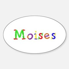 Moises Balloons Oval Decal