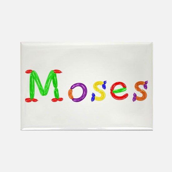 Moses Balloons Rectangle Magnet
