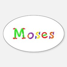 Moses Balloons Oval Decal
