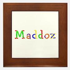 Maddox Balloons Framed Tile
