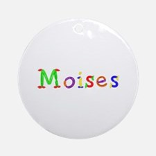 Moises Balloons Round Ornament