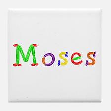 Moses Balloons Tile Coaster