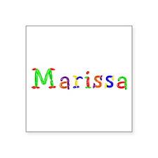 Marissa Balloons Square Sticker
