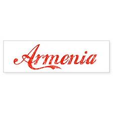 Vintage Armenia Bumper Bumper Sticker