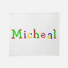 Micheal Balloons Throw Blanket