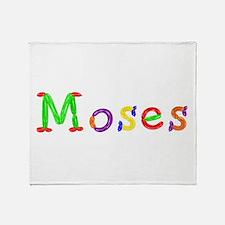 Moses Balloons Throw Blanket