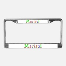 Marisol Balloons License Plate Frame