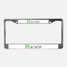 Marvin Balloons License Plate Frame