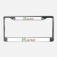 Moses Balloons License Plate Frame