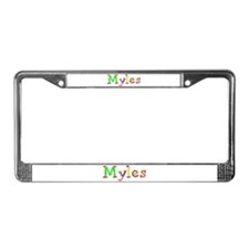 Myles Balloons License Plate Frame