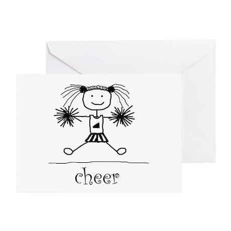 Stick Cheer Greeting Card