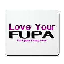 The FUPA Mousepad