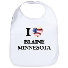 I love Blaine Minnesota Bib