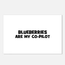 blueberries are my co-pilot Postcards (Package of