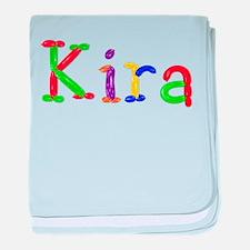 Kira Balloons baby blanket