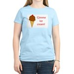GIMME ICE CREAM Women's Light T-Shirt
