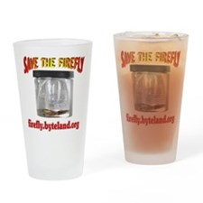 Save The Firefly Drinking Glass