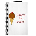 GIMME ICE CREAM Journal
