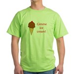 GIMME ICE CREAM Green T-Shirt
