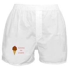 GIMME ICE CREAM Boxer Shorts
