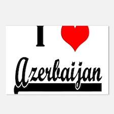 I Love Azerbaijan Postcards (Package of 8)