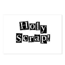 Holy Scrap! Postcards (Package of 8)