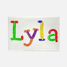 Lyla Balloons Rectangle Magnet
