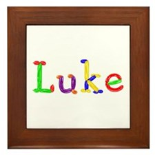 Luke Balloons Framed Tile