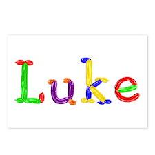 Luke Balloons Postcards 8 Pack