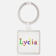 Lydia Balloons Square Keychain