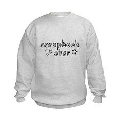 Scrapbook Star Sweatshirt