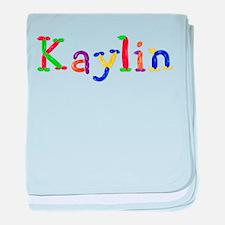 Kaylin Balloons baby blanket