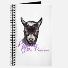 Pygmy Goat Gotta Love 'em Journal