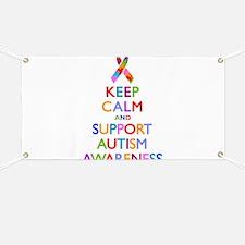 Support Autism Awareness Banner